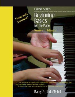 Classic Series: Volume 1-beginner piano method book
