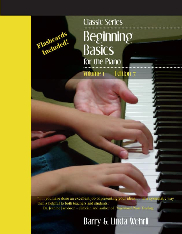 Classic Series Volume 1-beginner piano method book
