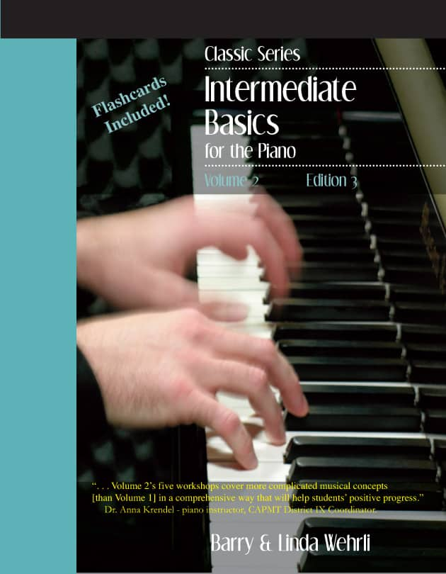 Classic Series Volume 2-intermediate piano method book