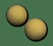 Exercise Balls (2-Pack)-foam exercise balls
