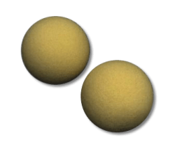Exercise Balls (2-Pack)-foam exercise balls