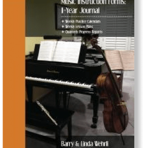 Music Instruction Forms - music assignment book