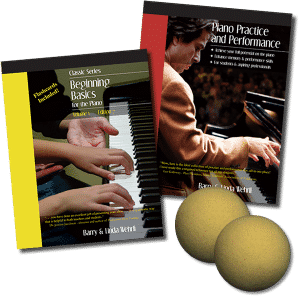 Beginner Essentials Pack, our beginner piano books and piano curriculum.