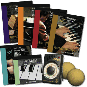 Intermediate Complete Pack, our intermediate piano books and piano curriculum.