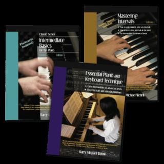 Intermediate Essentials Pack-intermediate piano books