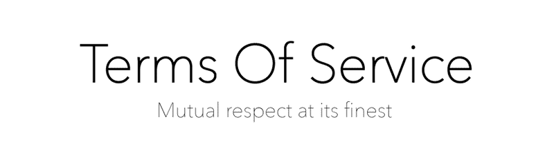 Terms of Service - Wehrli Publications
