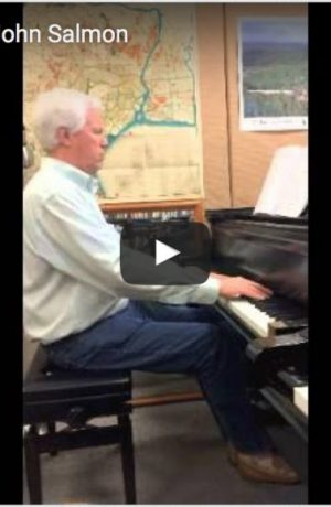 "Dr. John Salmon plays Prelude 1 from Barry's ""Book of Preludes: 1-15 for Piano""."