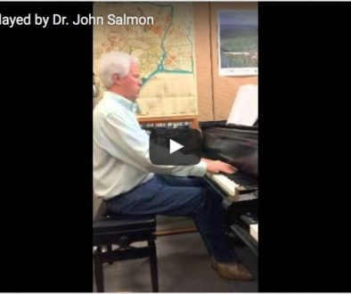 """Dr. John Salmon plays Prelude 1 from Barry's """"Book of Preludes: 1-15 for Piano""""."""