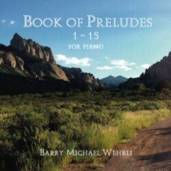 Book of Preludes CD cover
