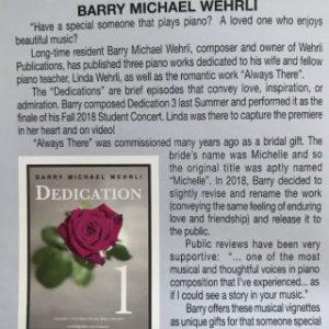 """""""Dedications"""" Release in Studio City Lifestyle Magazine"""