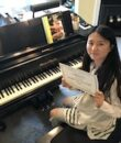 Student L.J. completes Classic Series Volume 1, taking San Fernando Valley piano lessons at Wehrli Publications and Music Studio.