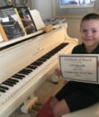 Student N.B. completes Classic Series Volume 1, taking San Fernando Valley piano lessons at Wehrli Publications and Music Studio.