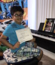 Student A.V. completes Classic Series Volume 1, taking San Fernando Valley piano lessons at Wehrli Publications and Music Studio.