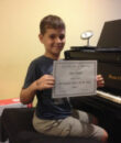Student A.L. completes Classic Series Volume 1, taking San Fernando Valley piano lessons at Wehrli Publications and Music Studio.