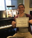 Student D.A. completes Classic Series Volume 1, taking San Fernando Valley piano lessons at Wehrli Publications and Music Studio.