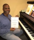 Student D.W. completes Mastering Intervals, taking San Fernando Valley piano lessons at Wehrli Publications and Music Studio.