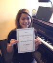 Student J.A. completes Mastering Intervals, taking San Fernando Valley piano lessons at Wehrli Publications and Music Studio.