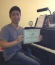 Student L.H. completes Classic Series Volume 2, taking San Fernando Valley piano lessons at Wehrli Publications and Music Studio.