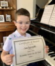 Student S.B. completes Classic Series Volume 1, taking San Fernando Valley piano lessons at Wehrli Publications and Music Studio.